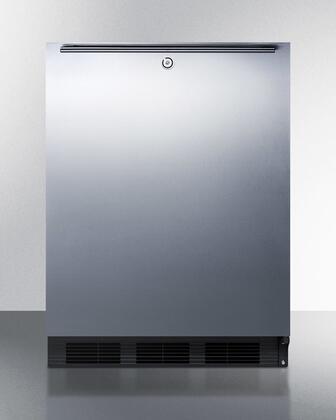 Summit  SPR7OSSH Compact Refrigerator Silver, SPR7OSSH Outdoor Refrigerator