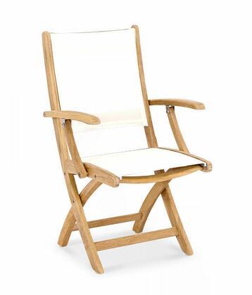 Douglas Nance Riviera DN6155 Patio Chair White, DN6155 Main Image