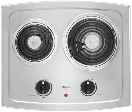 Whirlpool RCS2012RS Electric Cooktop Stainless Steel, 1