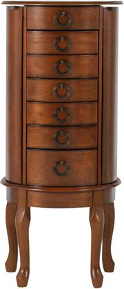 Powell Miscellaneous Jewelry Armoires 605318 Jewelry Armoire Brown, Main Image