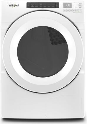 Whirlpool  WHD560CHW Electric Dryer White, Main Image