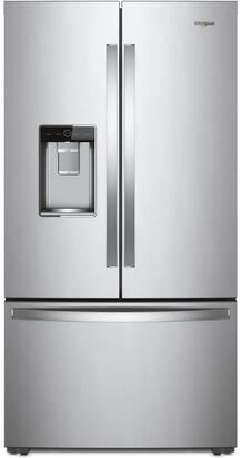 Whirlpool  WRF954CIHZ French Door Refrigerator Stainless Steel, Main Image