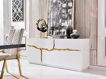 VIG Furniture Modrest Aspen VGVCG1808WHT Dining Room Buffet White, VGVCG1808-WHT Main Image