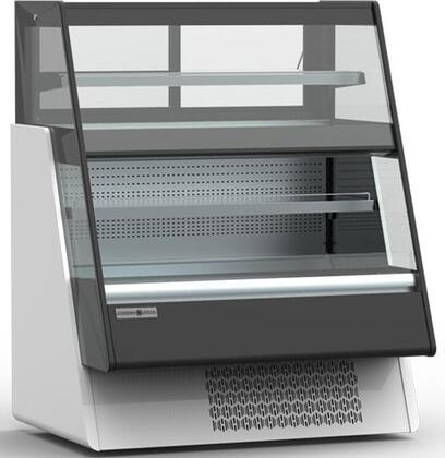 Hydra-Kool  KGLOU48S Display and Merchandising Refrigerator Silver, KGLOU48S Combination Type Case