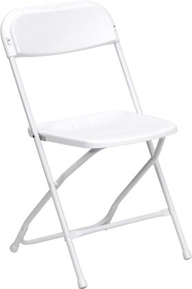 Flash Furniture Hercules LEL3WHITEGG Folding Chair White, 1