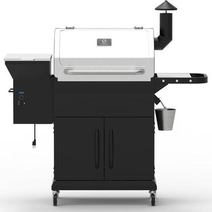 ZPG-1000E 54″ Freestanding Pellet Grill with 1060 sq. in. Total Cooking Area  Warming Rack  Digital Controller  20 lb Hopper Capacity  in Stainless