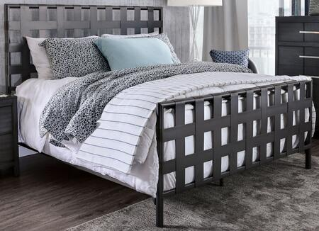 Furniture of America Earlgate CM7758T Bed Gray, CM7758T Main Image