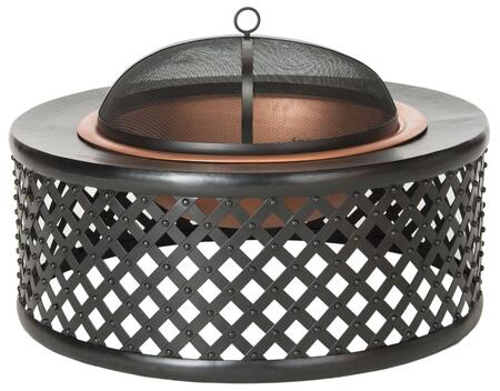 Safavieh  PIT1007A Outdoor Fire Pit , pit1007a front