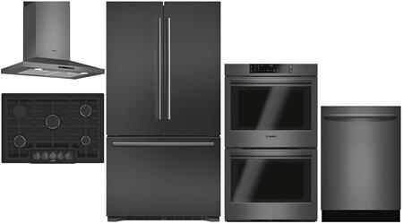Bosch 980877 Kitchen Appliance Package & Bundle Black Stainless Steel, main image