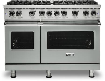 Viking 5 Series VGR5488BAGLP Freestanding Gas Range Gray, VGR5488BAGLP Gas Range