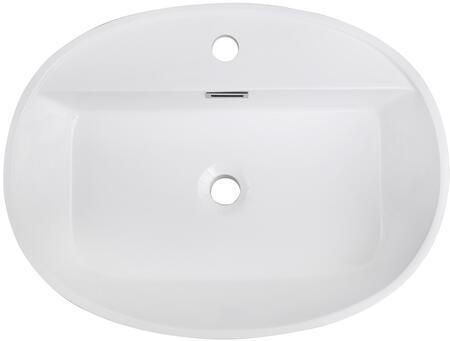 Streamline K1913SLSVF24 Sink White, Main Image