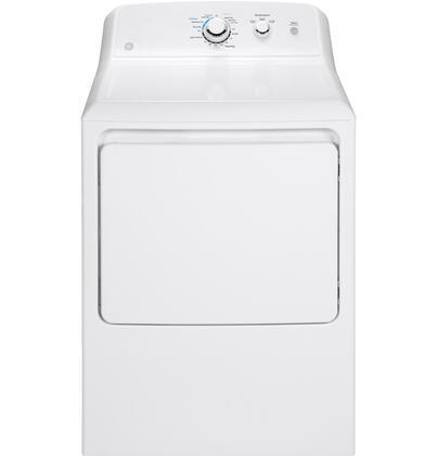 GE  GTD33GASKWW Gas Dryer White, Main Image