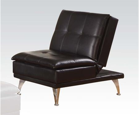 Acme Furniture Frasier 57081 Sofa Bed Black, Chair
