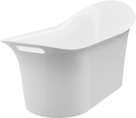 BT-1052-NF London 64″ Freestanding Tub No Faucet  in