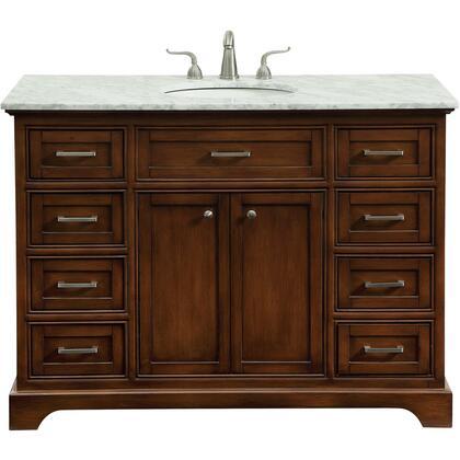 Elegant Decor Americana VF15048TK Sink Vanity Brown, VF15048TK