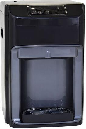 International H2O H2O2000CT Water Dispenser Black, H2O2000CT Front View