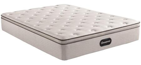 BR800 Series 700810007-1070 California King Size Plush Pillow Top Mattress with Pocketed Coils  Dualcool Technology  Gel Memory Foam Lumbar Support