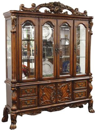 Acme Furniture Dresden 12155 China Cabinet Brown, China Cabinet