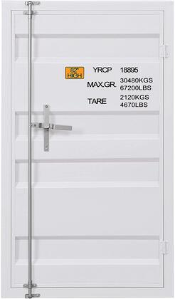 Cargo Collection 35910 Chest (Single Door) in White