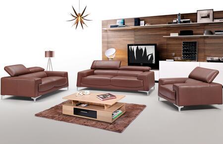 ESF  2537321 Living Room Set Brown, 2537321