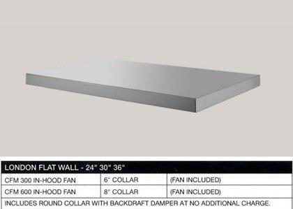 BlueStar  BSLOND54SS Under Cabinet Hood Stainless Steel, Main Image