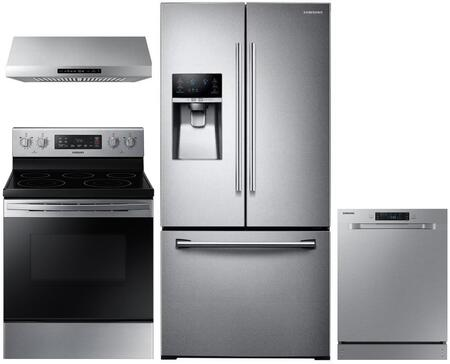 Samsung  1011180 Kitchen Appliance Package Stainless Steel, Main image