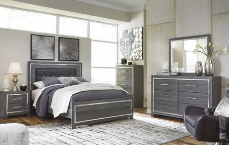 Signature Design by Ashley Lodanna B214KPBCHDMN Bedroom Set Gray, B214KPBCHDMN Main View