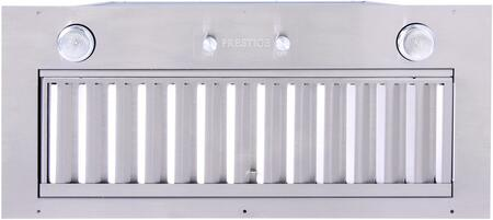 """UIB34C-600 34"""" Compact Baffle Filter Powerpack Insert with 600 CFM and Top or Rear Discharge in Stainless"""