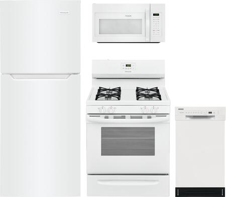 Frigidaire  1220947 Kitchen Appliance Package White, Main Image