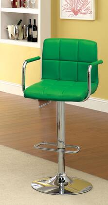 Furniture of America Corfu CMBR6917GR Bar Stool Green, Main Image