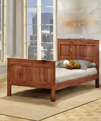 Chelsea Home Furniture  314021F Bed Brown, 314021F Lifestyle