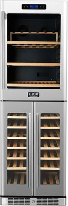 Kucht Professional K430AVH33 Wine Cooler 76 Bottles and Above Stainless Steel, Main Image