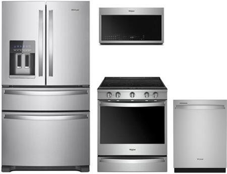 Whirlpool  902846 Kitchen Appliance Package Stainless Steel, 1