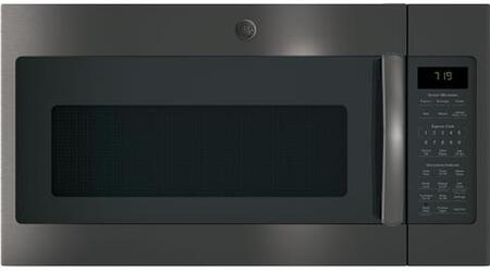GE  JNM7196BLTS Over The Range Microwave Black Stainless Steel, Main Image