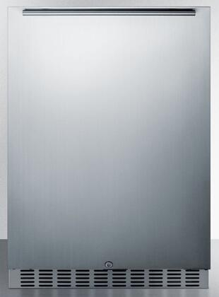 Summit Classic CL67ROSB Compact Refrigerator Stainless Steel, Main Image