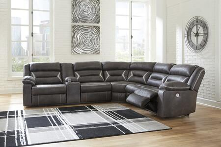 Signature Design by Ashley Kincord 1310459774662 Sectional Sofa Brown, 13104 59 77 46 62