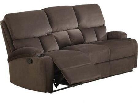 Acme Furniture Bokair 53891 Loveseat Brown, 1