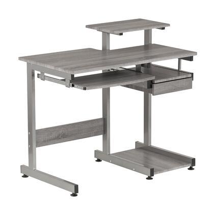 Techni Mobili  RTA2706AGRY Desk Gray, RTA 2706A GRY 1
