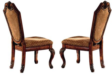 Acme Furniture Chateau de Ville 04077 Dining Room Chair Brown, Side Chair