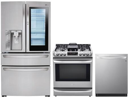 LG 1115432 Kitchen Appliance Package & Bundle Stainless Steel, main image