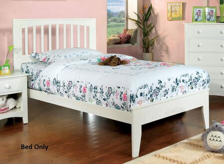 Furniture of America Pine Brook CM7908WHTBED Bed, 1