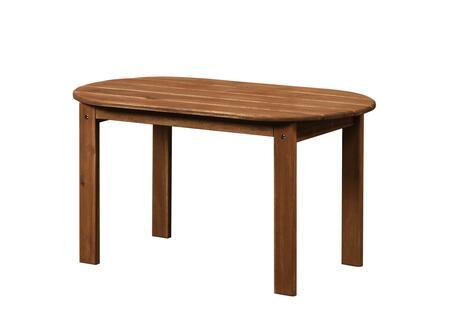 Linon 20154T3601KDU Outdoor Patio Table, 20154T36 01 KD U%20Adirondack%20Teak%20Finish%20Coffee%20Table