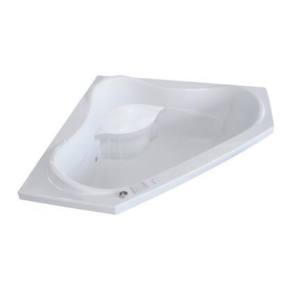 Valley Acrylic Signature Collection VITAWS6060WHT Bath Tub White, Main Image