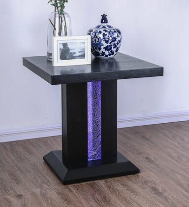 Furniture of America Tobias CM4252E End Table Black, Main Image