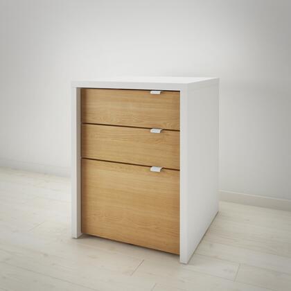 Nexera Chrono 211239 File Cabinet Beige, Main Image