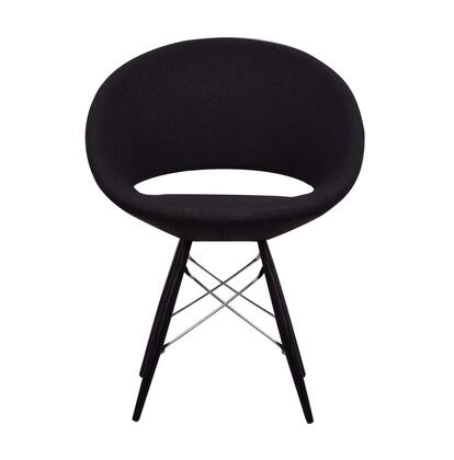 Delancey 100-MCD-MW-CHW Tower Chair in Charcoal
