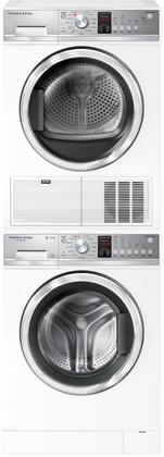 Fisher Paykel  1413319 Washer & Dryer Set White, 1