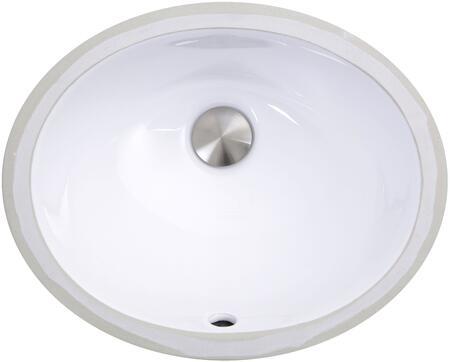 Nantucket  UM13X10W Sink White, UM-13x10-W Top view