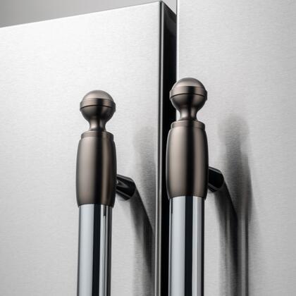 Bertazzoni  DS2HERTSB Appliance Accessories Black, DS2HERTSB Matte Satin Black Decor Set