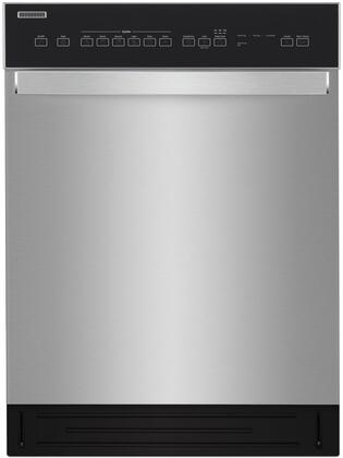 Whirlpool  WDF550SAHS Built-In Dishwasher Stainless Steel, Main Image
